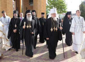 Wizyta Wielce B³ogos³awionego JANA X, Patriarchy Antiochii i ca³ego Wschoduórkiem.