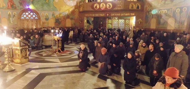 Porządek nabożeństw w V Tygodniu Wielkiego Postu