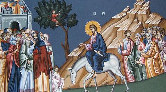 Obchody Niedzieli Palmowej w Jerozolimie