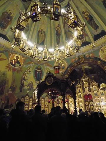 Wielka Sobota oraz Noc Paschalna w cerkwi św. Ducha