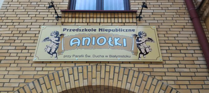 """Abp Jakub oświęcił i otworzył Przedszkole """"Aniołki"""""""