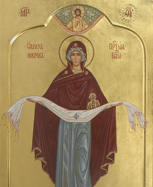 Święto Opieki Matki Bożej  w naszej parafii
