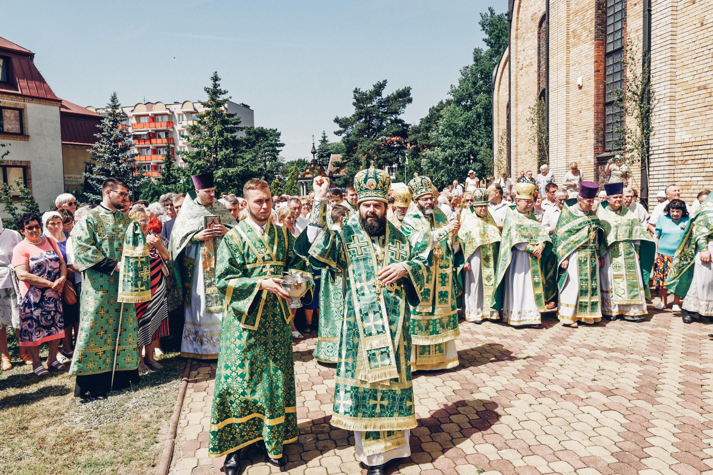 Nabożeństwo dziękczynne z okazji Dożynek Wojewódzkich