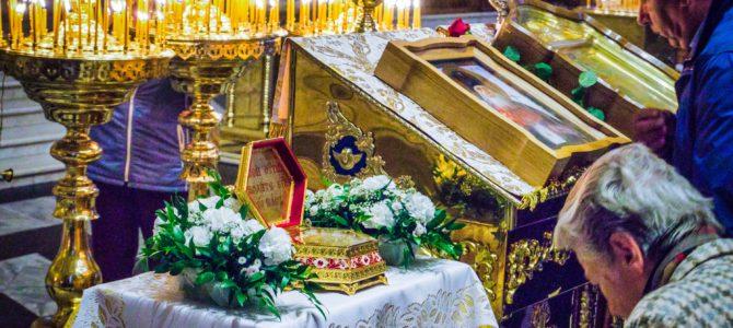 Fotorelacja z przybycia relikwii św. Łukasza do naszej cerkwi